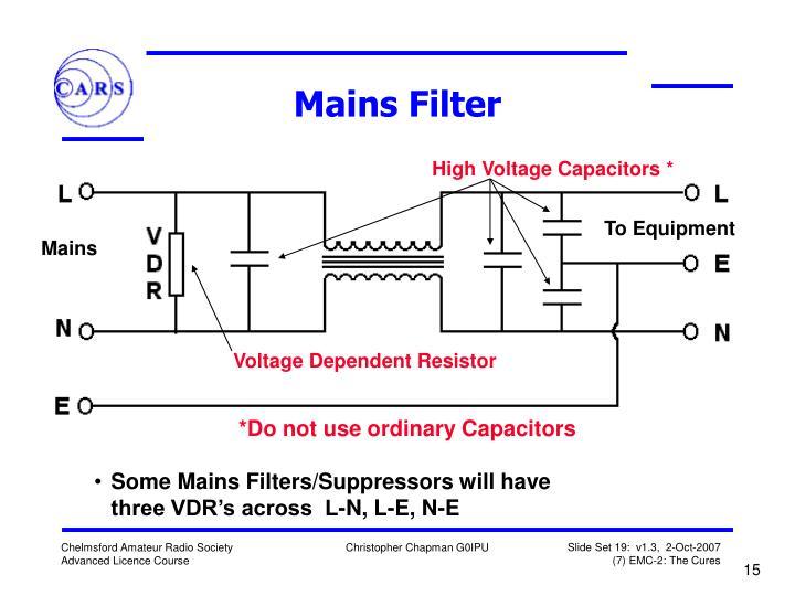 Mains Filter
