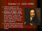 charles i r 1625 1649