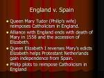 england v spain