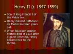 henry ii r 1547 1559