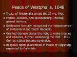 peace of westphalia 1648