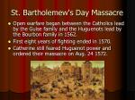 st bartholemew s day massacre