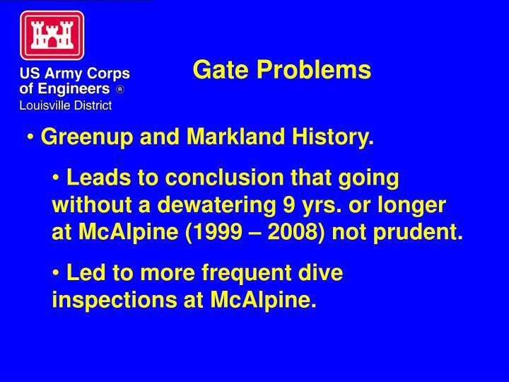 Gate Problems
