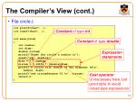 the compiler s view cont1