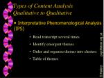 types of content analysis qualitative to qualitative