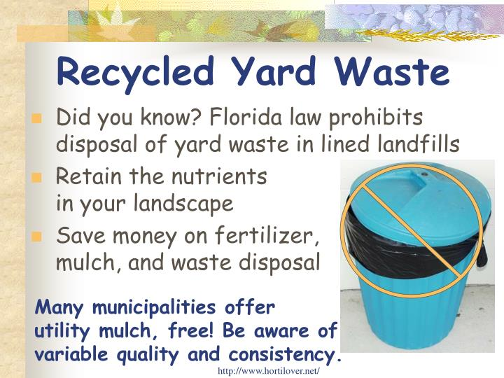 Recycled Yard Waste
