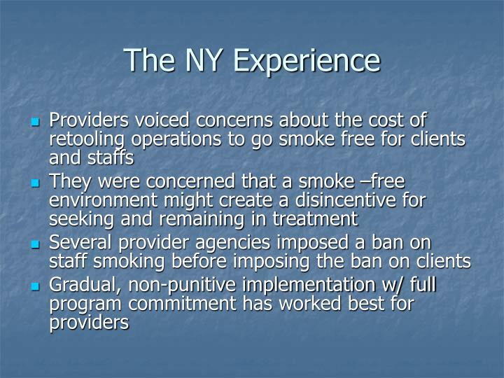 The NY Experience