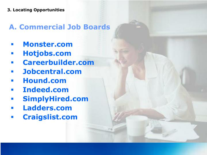 3. Locating Opportunities