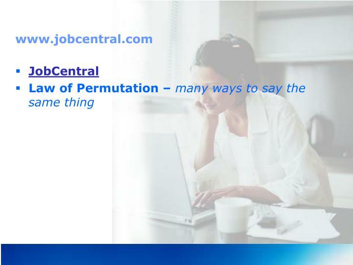 www.jobcentral.com