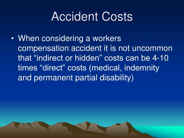 Accident Costs