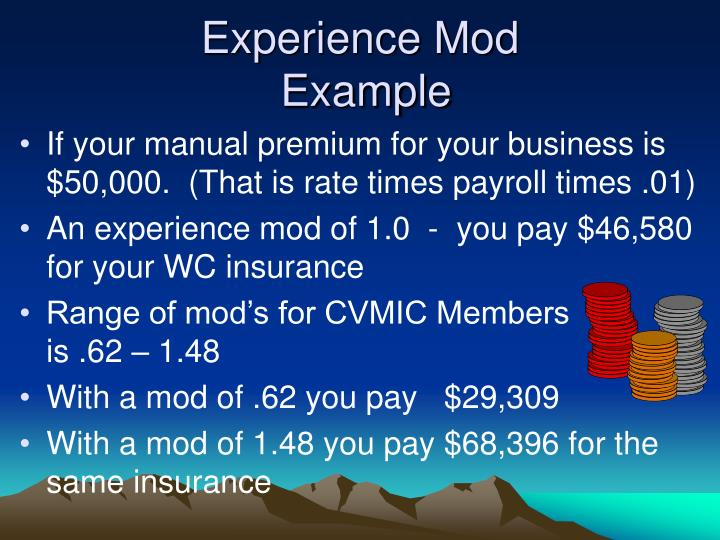 Experience Mod