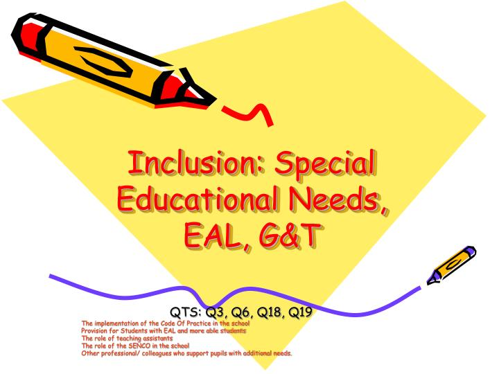 essay about inclusive education Inclusive education is concerned with the education and accommodation of all children in society, regardless of their physical, intellectual inclusion tries to reduce exclusion within the education system by tackling, responding to and meeting the different needs of all learners (booth, 1996.