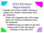 acc s entrance requirements2