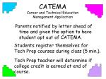 catema career and technical education management application