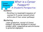 what is a career passport a student s perspective