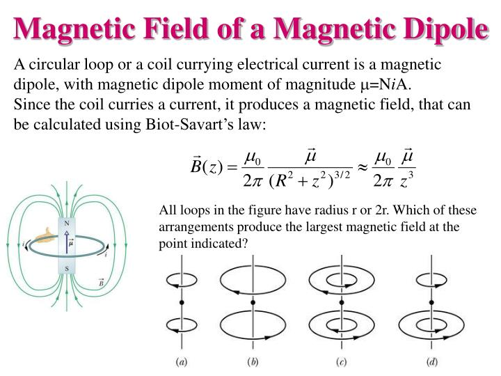 All loops in the figure have radius r or 2r. Which of these arrangements produce the largest magnetic field at the point indicated?
