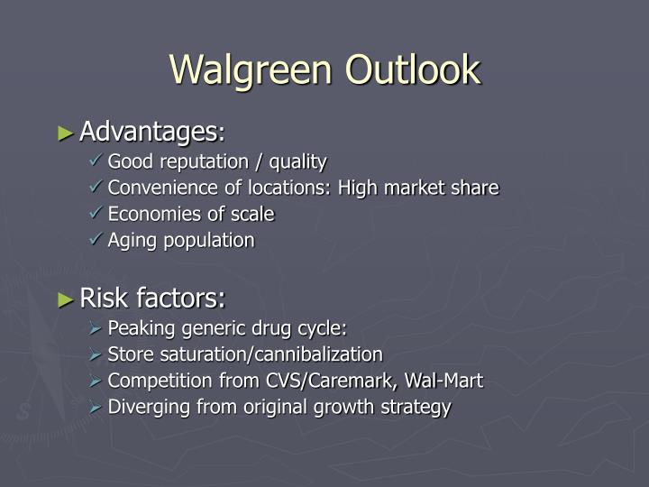 Walgreen Outlook