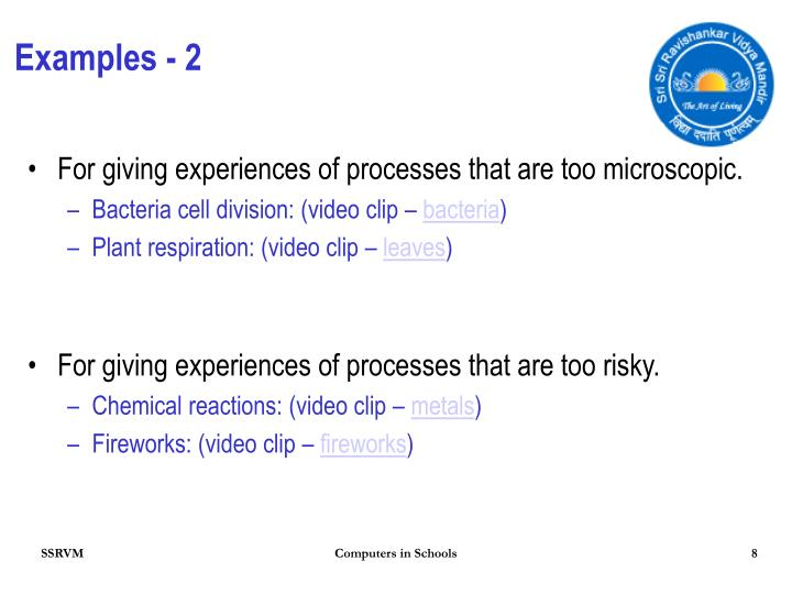 Examples - 2