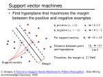 support vector machines1