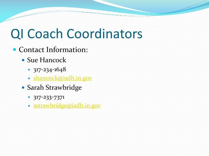 Qi coach coordinators