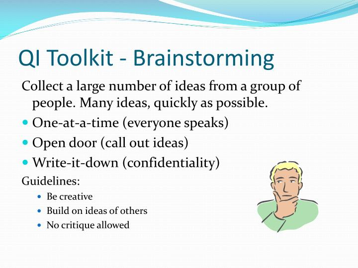 QI Toolkit - Brainstorming