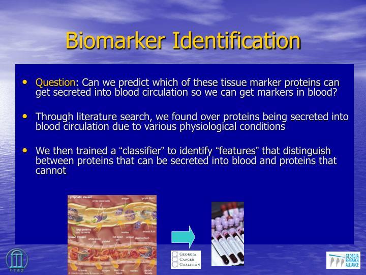 Biomarker Identification