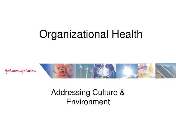 Organizational Health