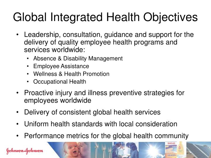 Global Integrated Health Objectives