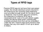 types of rfid tags