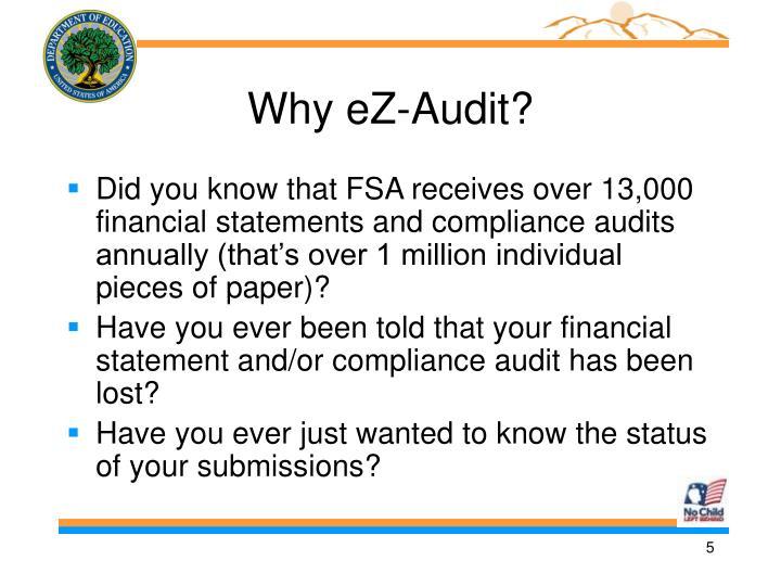 Why eZ-Audit?