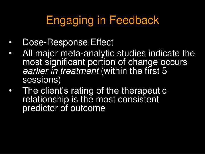 Engaging in Feedback