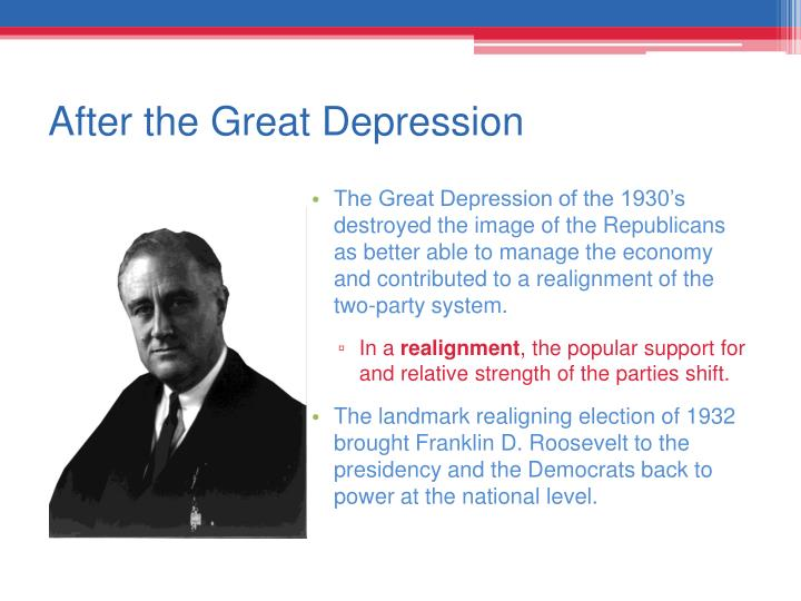 After the Great Depression