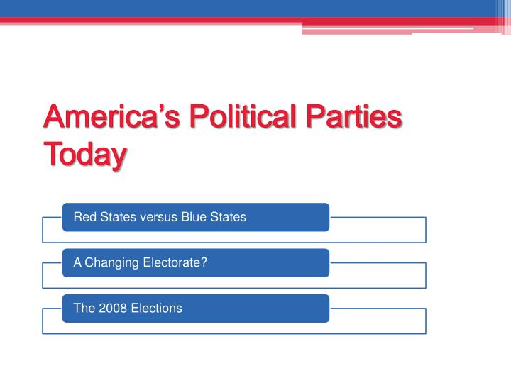 America's Political Parties Today