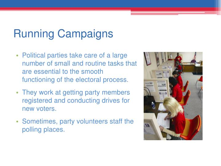 Running Campaigns
