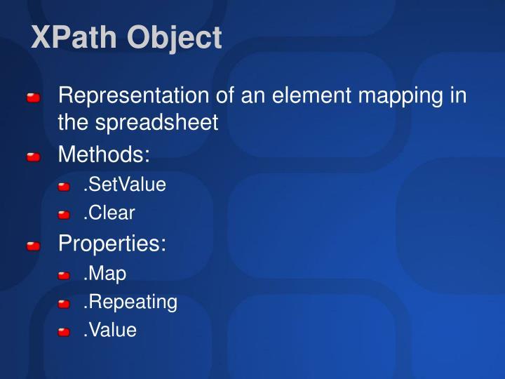 XPath Object