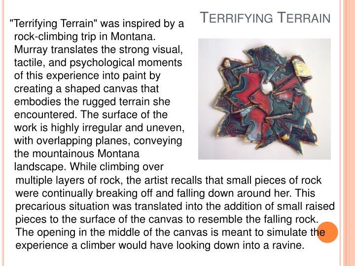 Terrifying Terrain