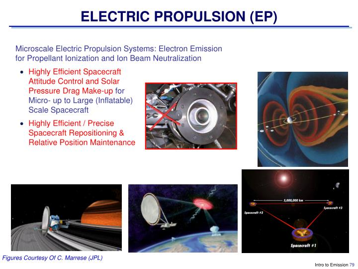 ELECTRIC PROPULSION (EP)