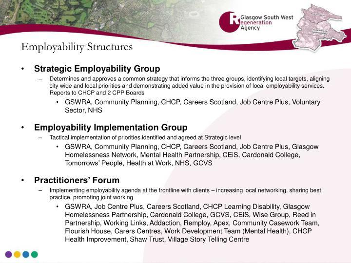 Employability Structures