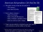 american jurisprudence 2d am jur 2d