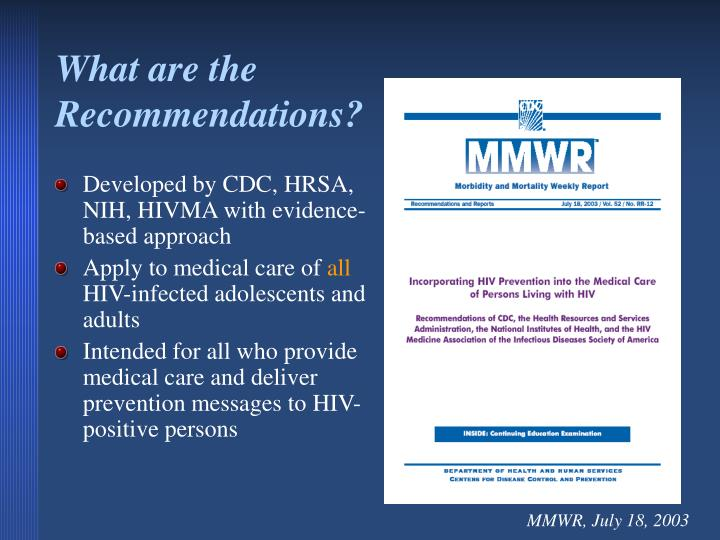 an introduction to the prevention of hiv transmittance to babies Clinicians should recommend that women with current or ongoing high-risk factors, such as a new diagnosis of a sexually transmitted infection, injection drug use, or a partner known to be infected with hiv, should not breastfeed until an hiv risk-reduction plan is in place, including the use of prep.