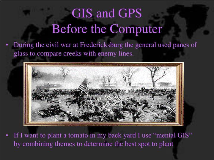GIS and GPS