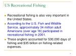 us recreational fishing