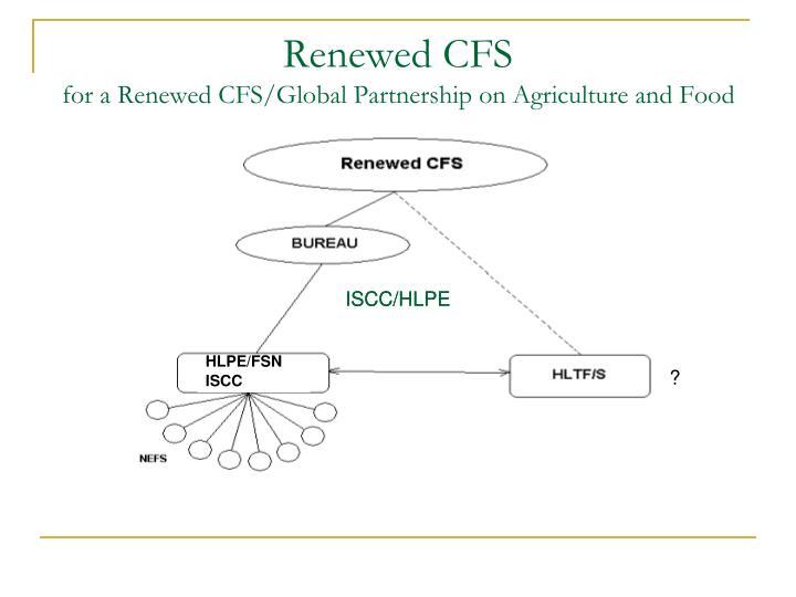Renewed CFS