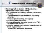 next generation identification
