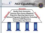 ngi capabilities