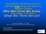 presented february 16 2008 encore energy efficiency program performance