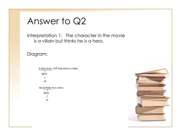 Answer to Q2