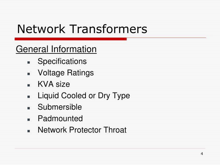 Network Transformers