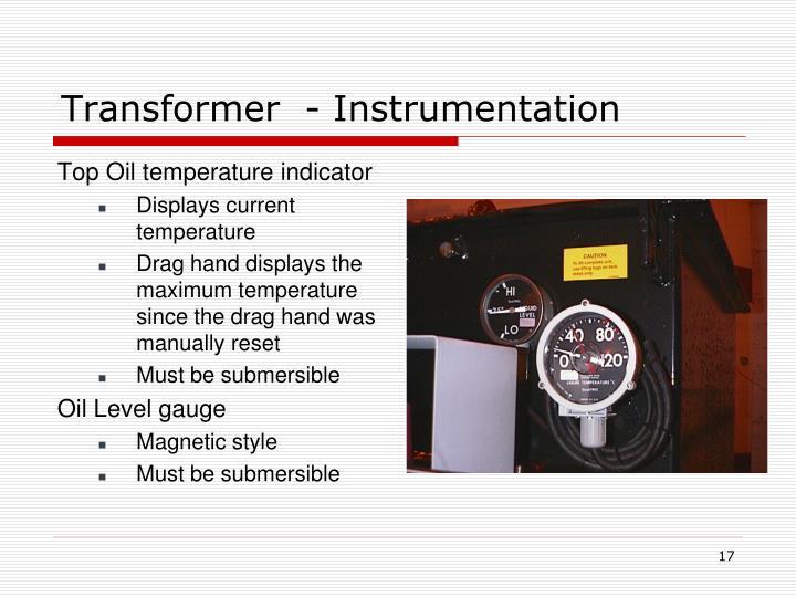 Transformer  - Instrumentation