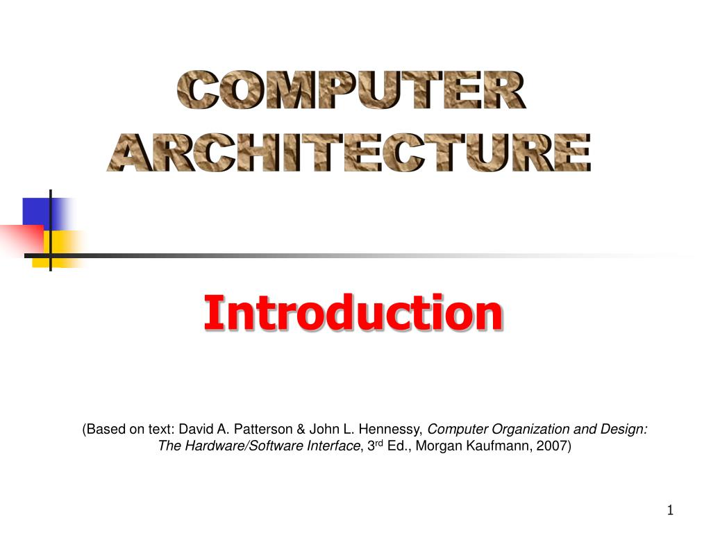 Ppt Computer Architecture Powerpoint Presentation Free Download Id 1288592